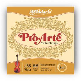 D`ADDARIO J58MM Pro Arte Medium MM Струны для смычковых фото