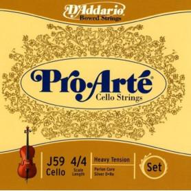 D`ADDARIO J59 4/4H Pro Arte 4/4H Струны для смычковых фото