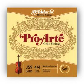 D`ADDARIO J59 4/4M Pro Arte 4/4M Струны для смычковых фото