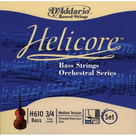 D`ADDARIO H610 3/4M Helicore Orchestral 3/4M Струны для смычковых фото