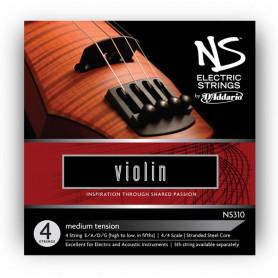 D`ADDARIO NS310 NS Electric Violin 4/4 Струны для смычковых фото