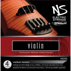 D`ADDARIO NS315 NS Electric Violin Low C 4/4 Струны для смычковых фото