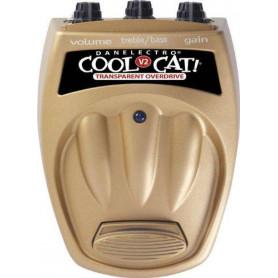 DANELECTRO COOL CAT TRANSPARENT OVERDRIVE V2 Педаль эффектов фото