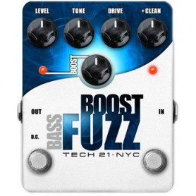 TECH21 BOOST BASS FUZZ Педаль эффектов фото