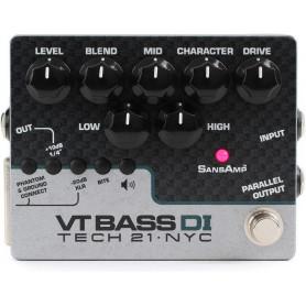 TECH21 SansAmp VT BASS DI Бас-гитарный эффект фото