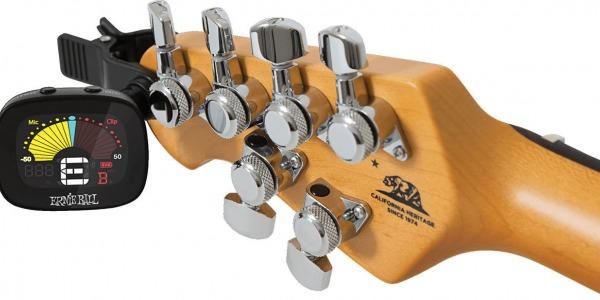 Виды гитарных тюнеров